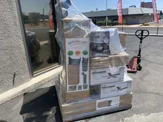 Walmart Liquidation Pallet (APX. 35 Items)